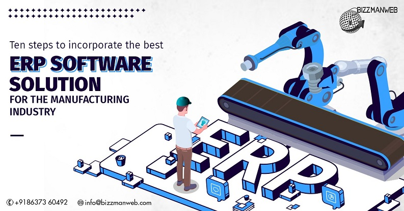 best ERP software solution for the manufacturing industry