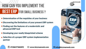 How can you implement the best ERP for small business